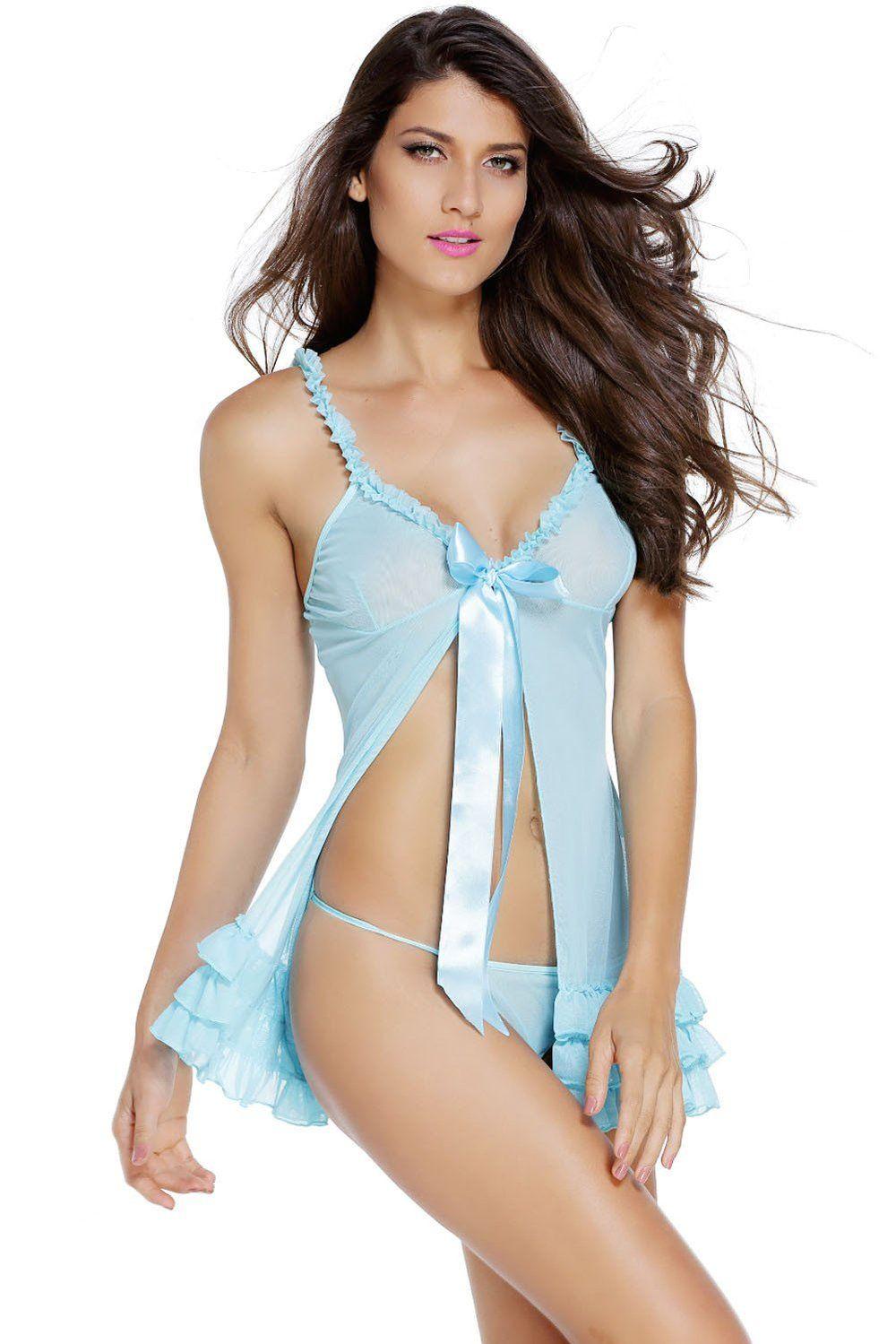 dca705f18e75 Obsessive Kalia Sexy Babydoll Dress | Daloah.com | Babydoll dress ...