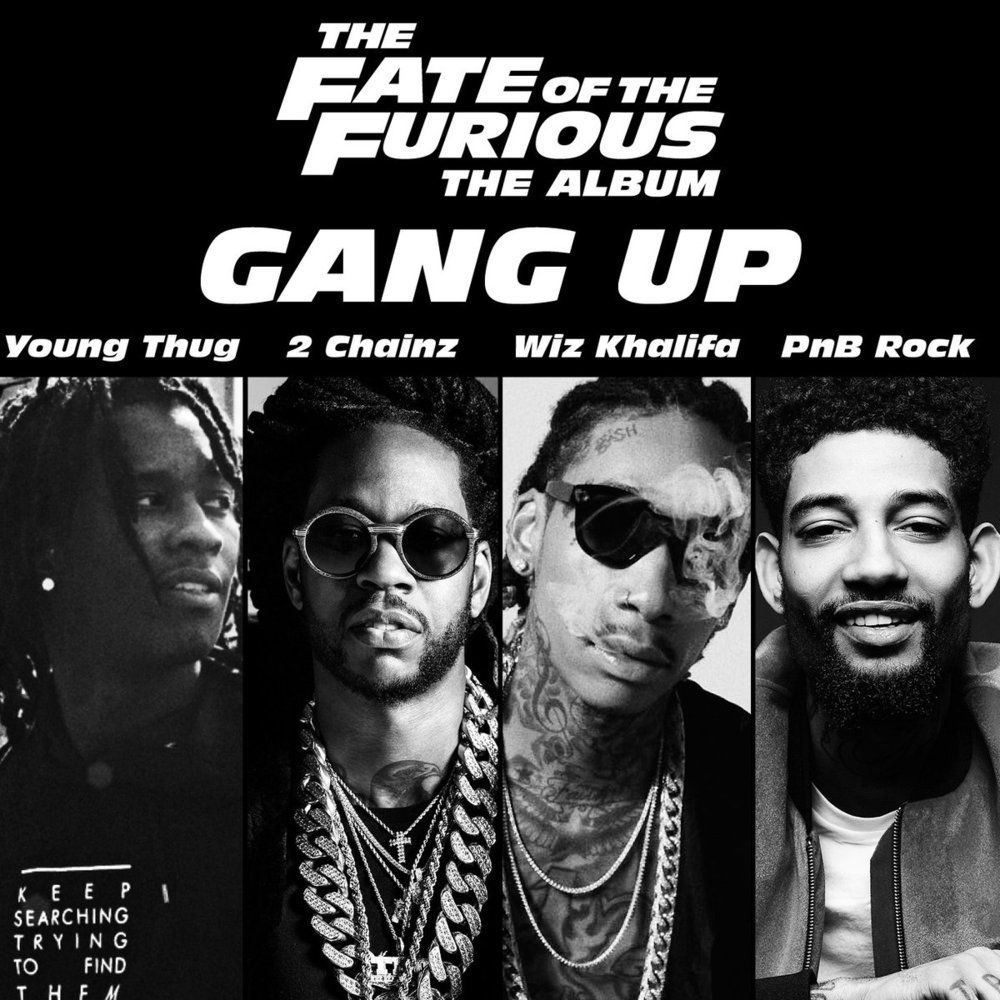 1 Young Thug 2 Chainz Wiz Khalifa Pnb Rock Gang Up Lyrics Genius Lyrics Gang Up Young Thug John Legend Kids