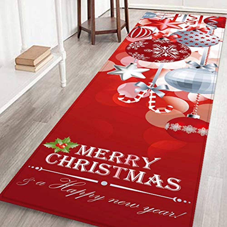Merry Christmas Rug Anti Skid Indoor Outdoor Mats Home Office Bedroom Floormat Decor For More Infor Christmas Rugs Outdoor Christmas Christmas Living Rooms
