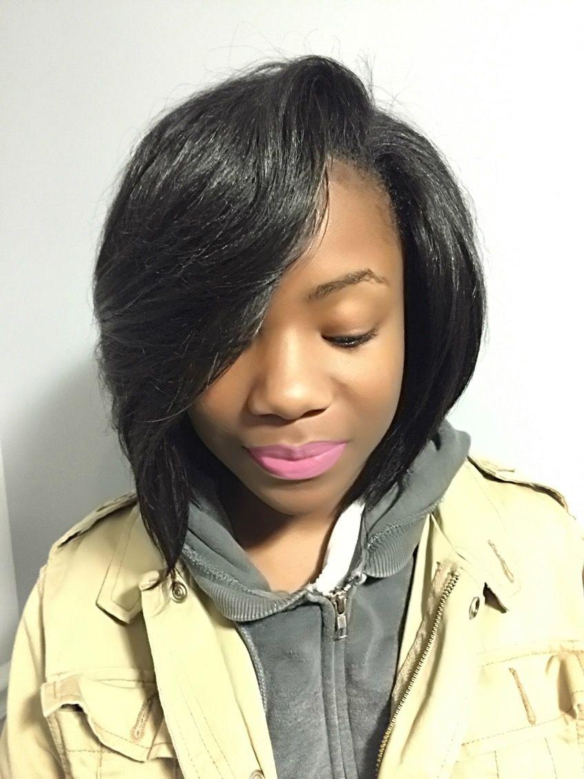 Bob Quickweave Blackhair Sewinbob Sewin Atlanta Hair Art Book