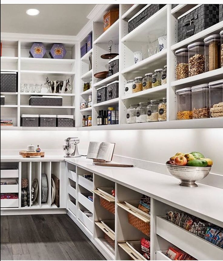 Effective Pantry Shelving Designs For Well Organized: Love This Well Organized Pantry