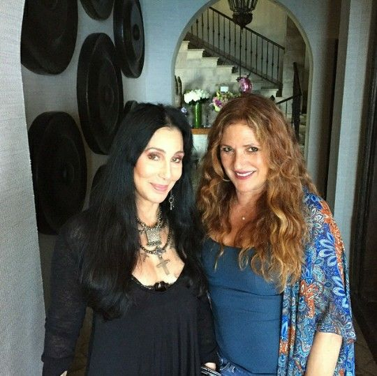 Cher and Paulette Howell yesterday!! | Cher | Cher bono, T ...