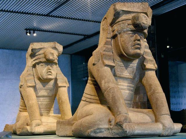 Resultado de imagen para Estatuas gemelas de dignatarios olmecas