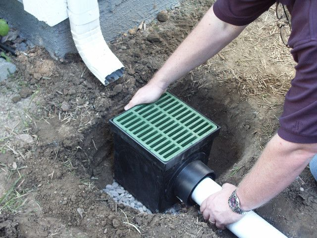 Stormdrain Fsd 090 K 9 Inch Square Catch Basin With Green