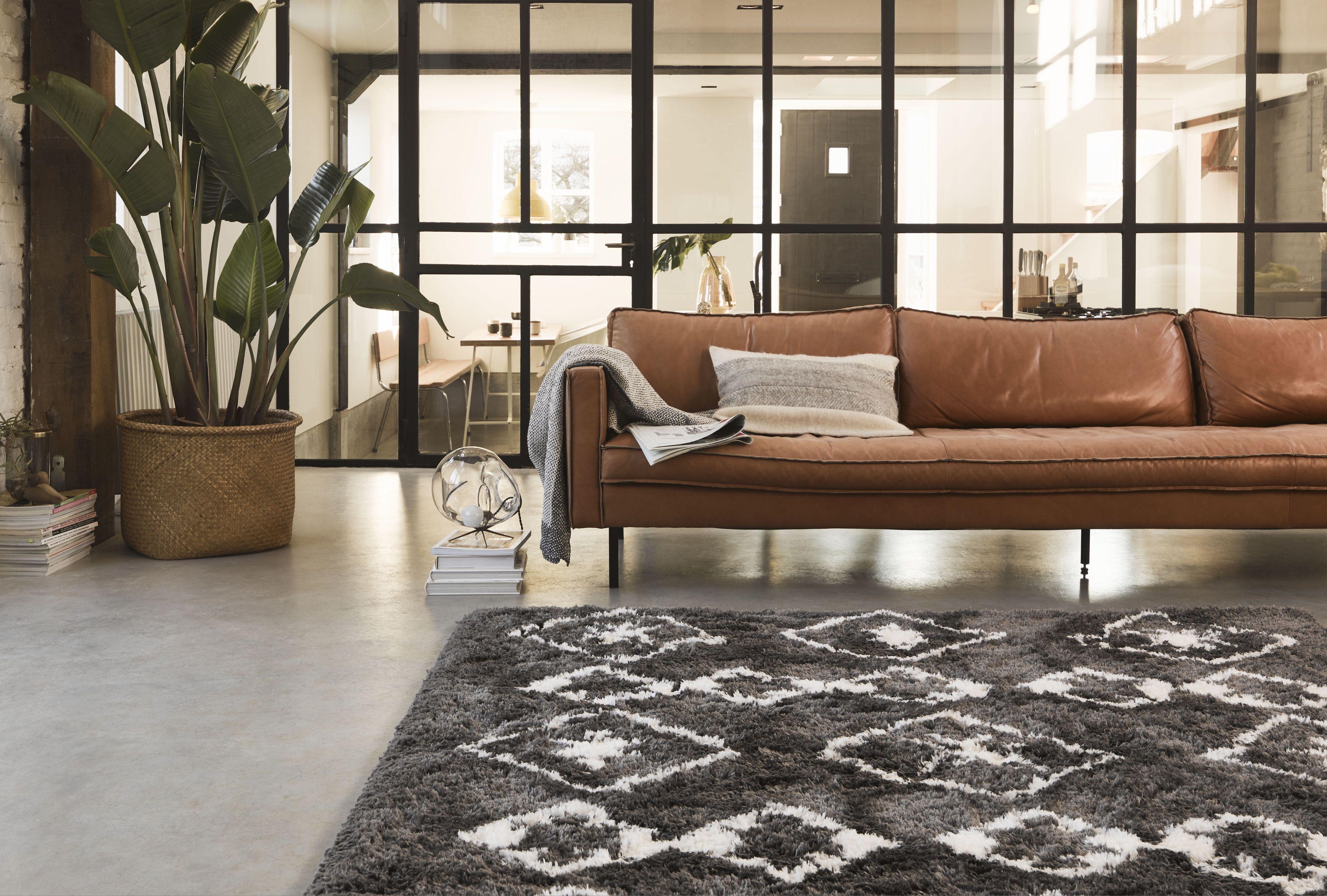 Teppich Grau Hochflor Boho Scandic Ayachi Wecon Home Sofa Design Hochflor Teppich Teppicharten