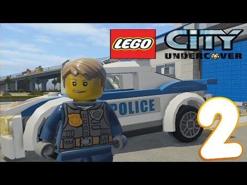 Lego City Undercover Police Chase Gameplay Walkthrough Part 2pc