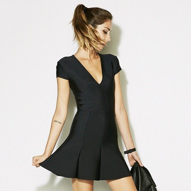The heron dress.