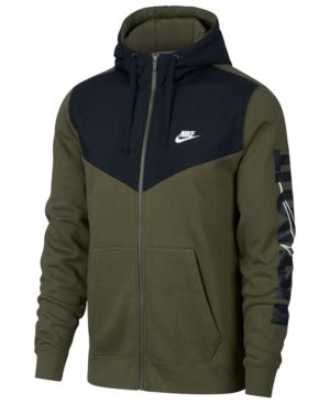 Nike Dry Hoodie Full Zip Fleece 2L Camo Dri FIT™ technology