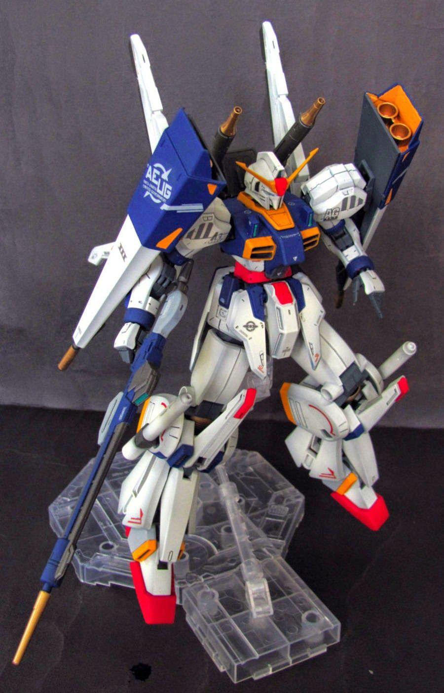 "Custom Build: RE/100 Gundam MK-III ""FA prototype"" - Gundam Kits Collection News and Reviews"