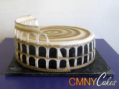 Colisee De Rome Recettes Trucs Anniversaire Romain