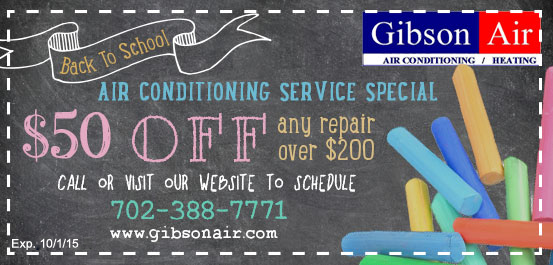 Air Conditioning Coupons, HVAC Deals & Specials Gibson