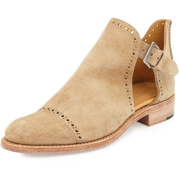 The Office Of Angela Scott Suede Cutout Desert Boot 255 Liked On