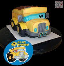 Dump Truck Cake Template 3d