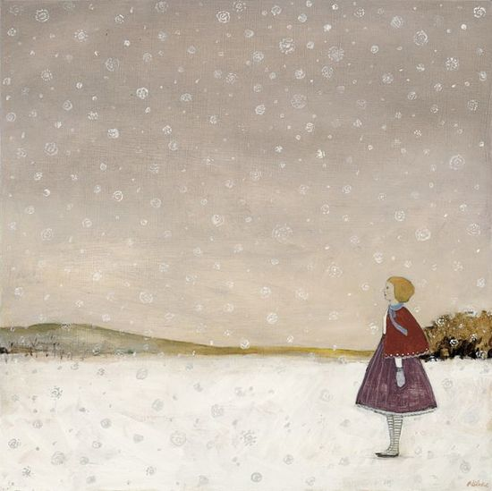 Lucy waits for Spring by Amanda Blake