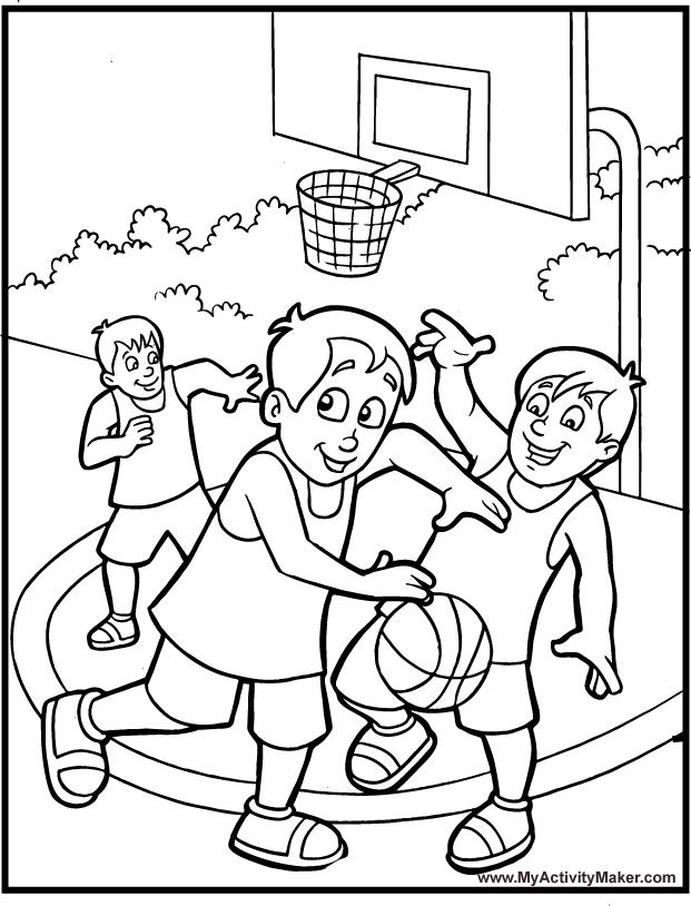Awesome Basketball Coloring Pages Printable Pictures Best For Kids ...