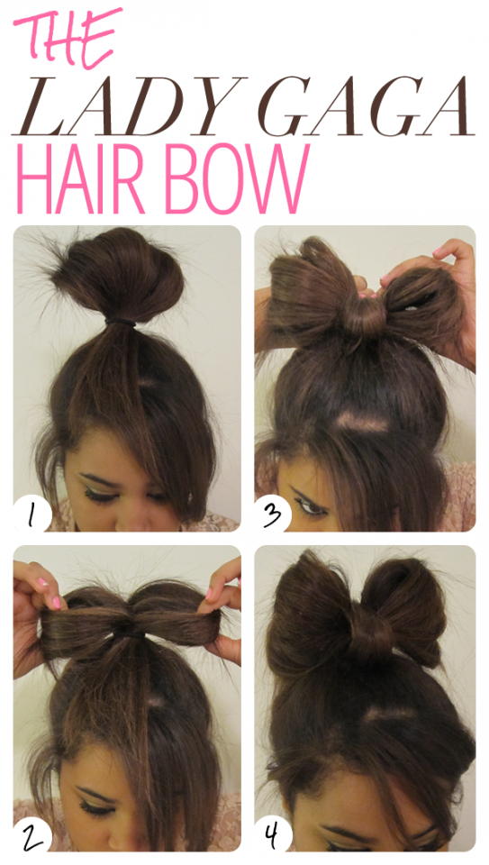 Marvelous 1000 Images About Bows Barettes Ribbon Hairstyles On Pinterest Short Hairstyles Gunalazisus