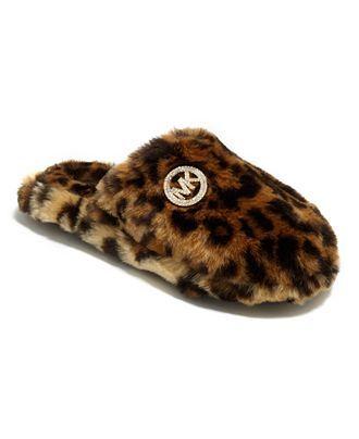 Fur: Michael Kors slipper, $30 at Macy