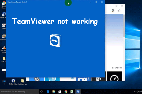 Teamviewer Remote Control Not Working