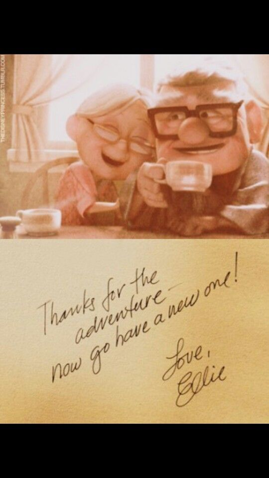 The most memorable adventure from UP!!! From Ellie...