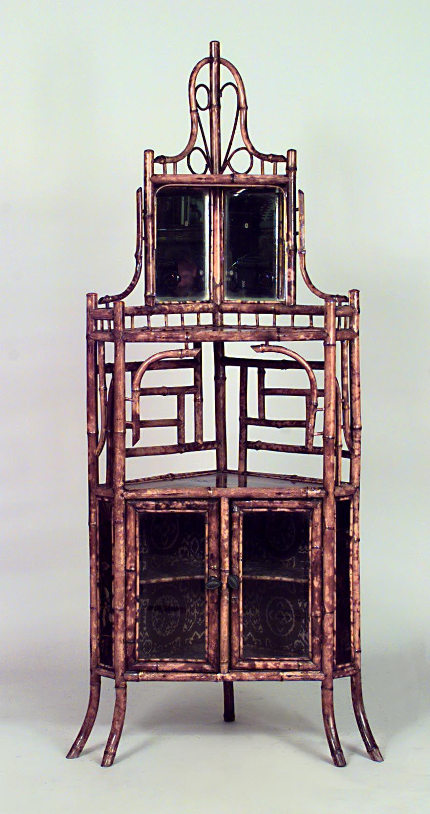 Best Bamboo Bamboo Cabinet Case Piece Corner Cabinet Bamboo 400 x 300