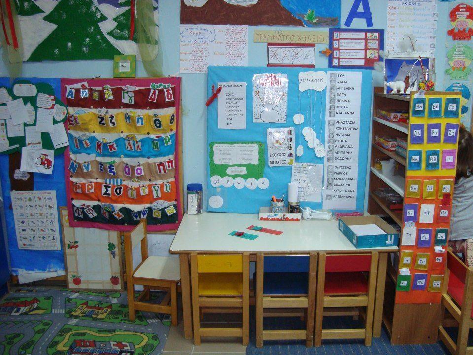 preschool writing area ideas