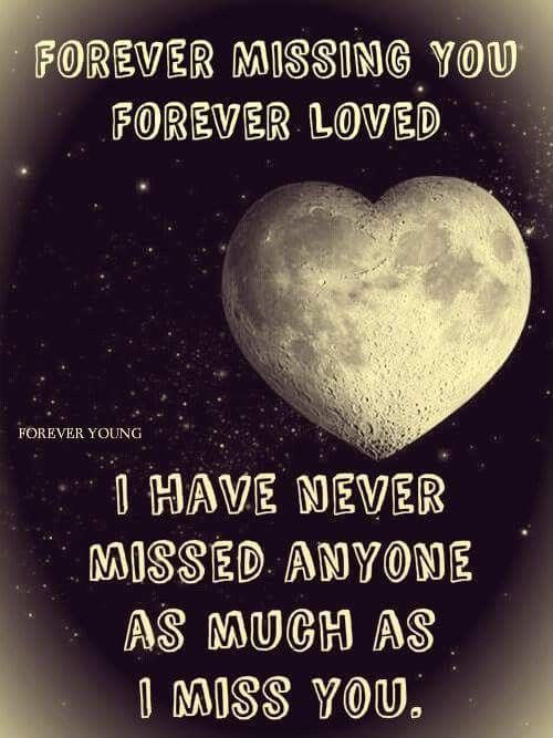 True, I miss my children every day and it never gets easier. For Randy 2007, Cyndy 2013 and Scott 2015.