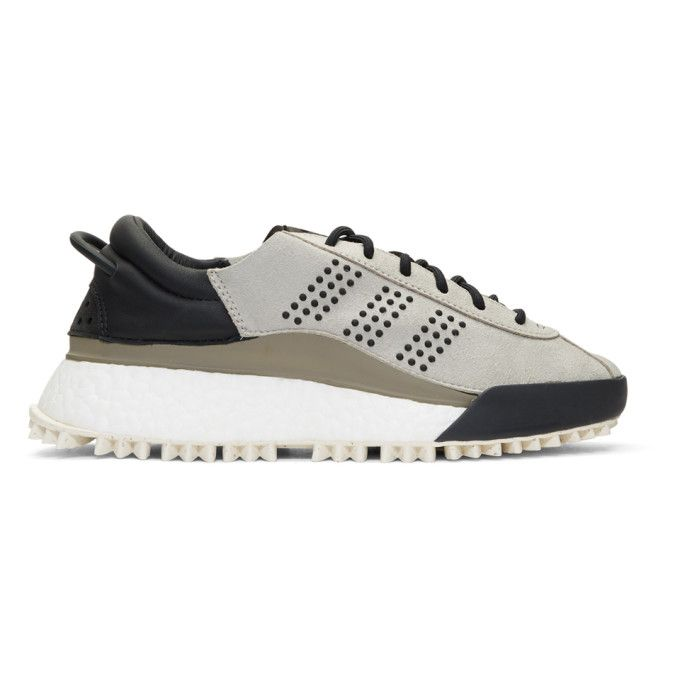 ADIDAS ORIGINALS BY ALEXANDER WANG Grey AW Hike Lo Sneakers.   adidasoriginalsbyalexanderwang  shoes   43084d15f