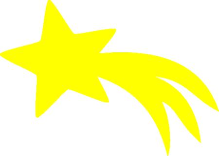 Shooting Star Svg Shooting Star Clipart Star Svg Star Clipart