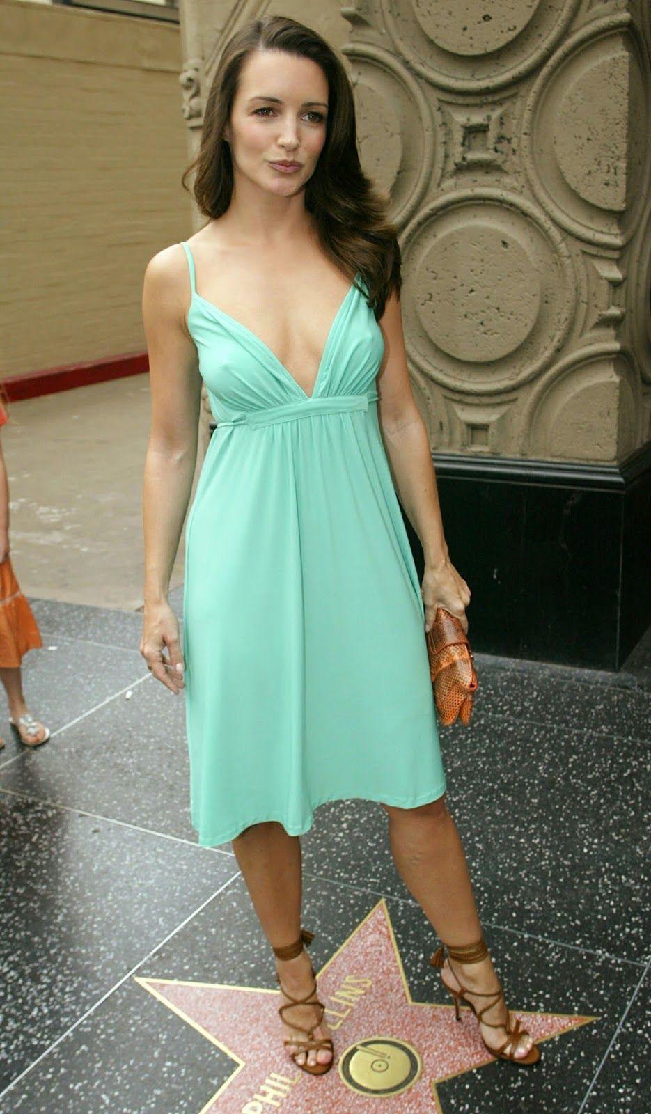 Kristin+Davis+pokies+in+braless+green+dress+2 | Easy On The Eyes ...