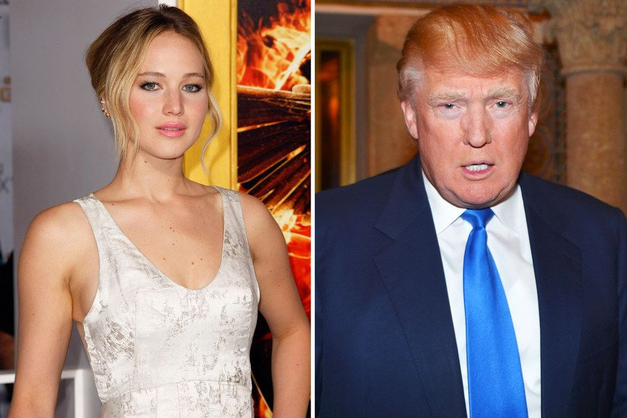 "Jennifer Lawrence Says a Donald Trump Presidency Would Be ""The End of the World"" 