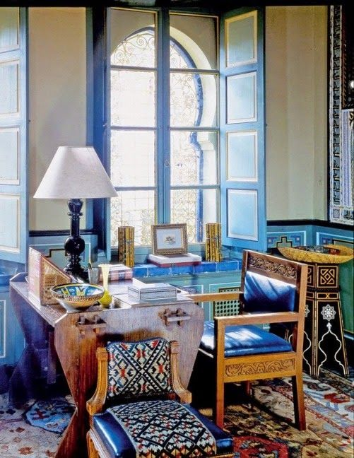 Celebrity Homes: Yves Saint Laurent /Marrakech/