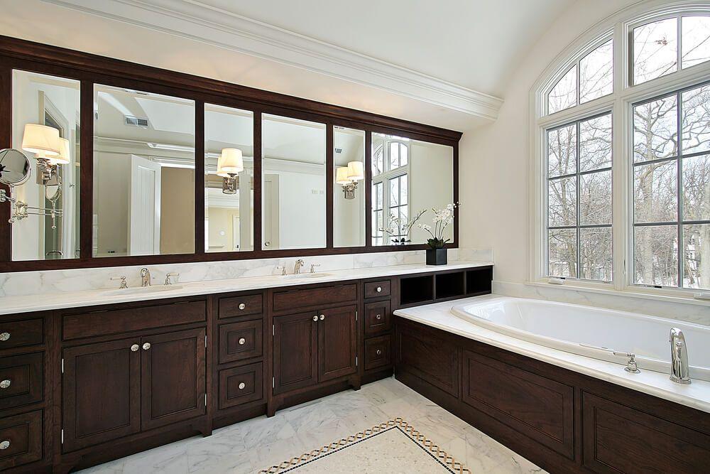 Master Bathroom Designs With Beautiful Woodwork Wood Vanity - 52 bathroom vanity cabinet for bathroom decor ideas