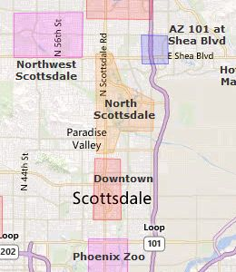 Learn About Downtown Scottsdale Hotelotels In Our Arizona Az Hotel Guide Is 4 Miles North Of Tx Route 202 On Rural Road