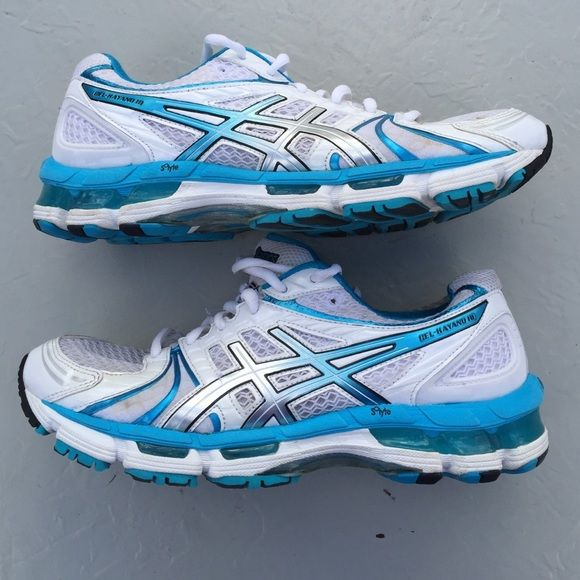 ASICS Women's GEL-Kayano 18 Running Shoe Very Used, but is very clean asics