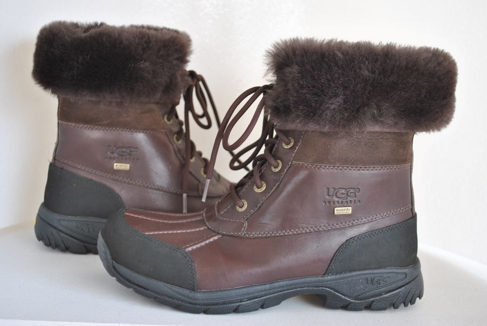 bfefb985281 UGG Men's Butte Brown Leather Boots 5521 U.S Size 11 | Stuff to Buy ...