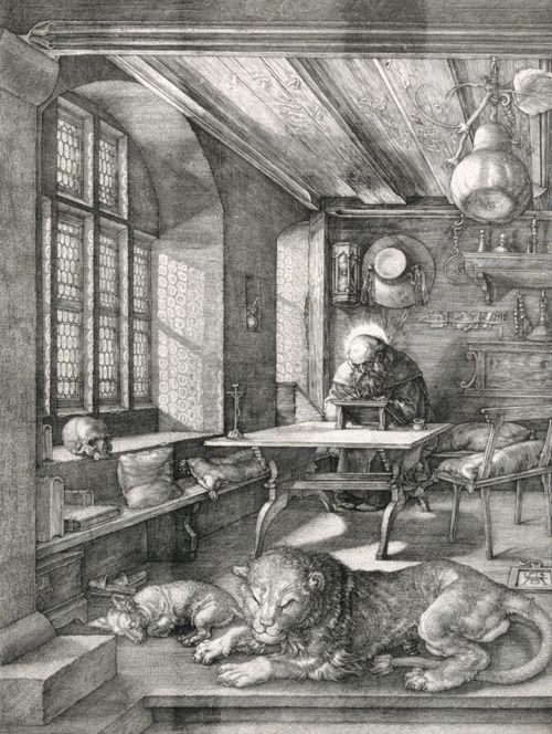 3 Prints of Saint Jerome Albrecht Durer: Three Fine Art Prints