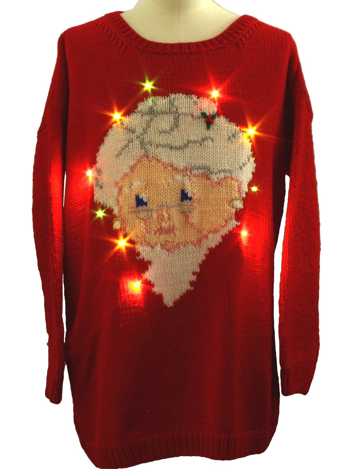 Homemade Ugly Christmas Sweaters   Style Homemade Knitted Hand...