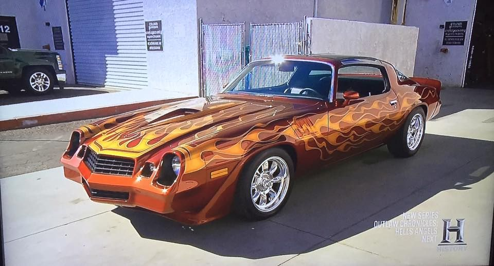 Counts Kustoms Just Red This Sweet 79 Camaro 1979 Chevy Z28