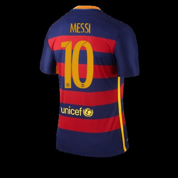 Camiseta Barcelona primera equipacion 2015/2016 Numero 10 MESSI