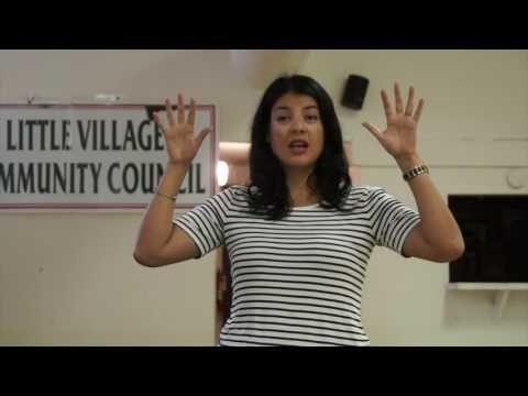 Lvcc Augie Sallas Welcomes Anna Valencia Chicago City Clerk Chicago City Anna Valencia Valencia