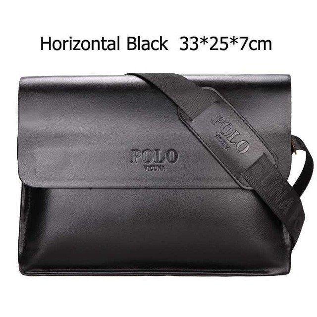 Famous Brand Men Casual Business faux leather Messenger Bag Vintage  Cross-body Bag 773dd5f6223cc