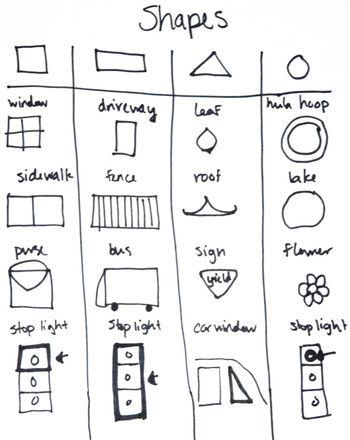 Hunt for Shapes!   Activities, Shapes and Maths