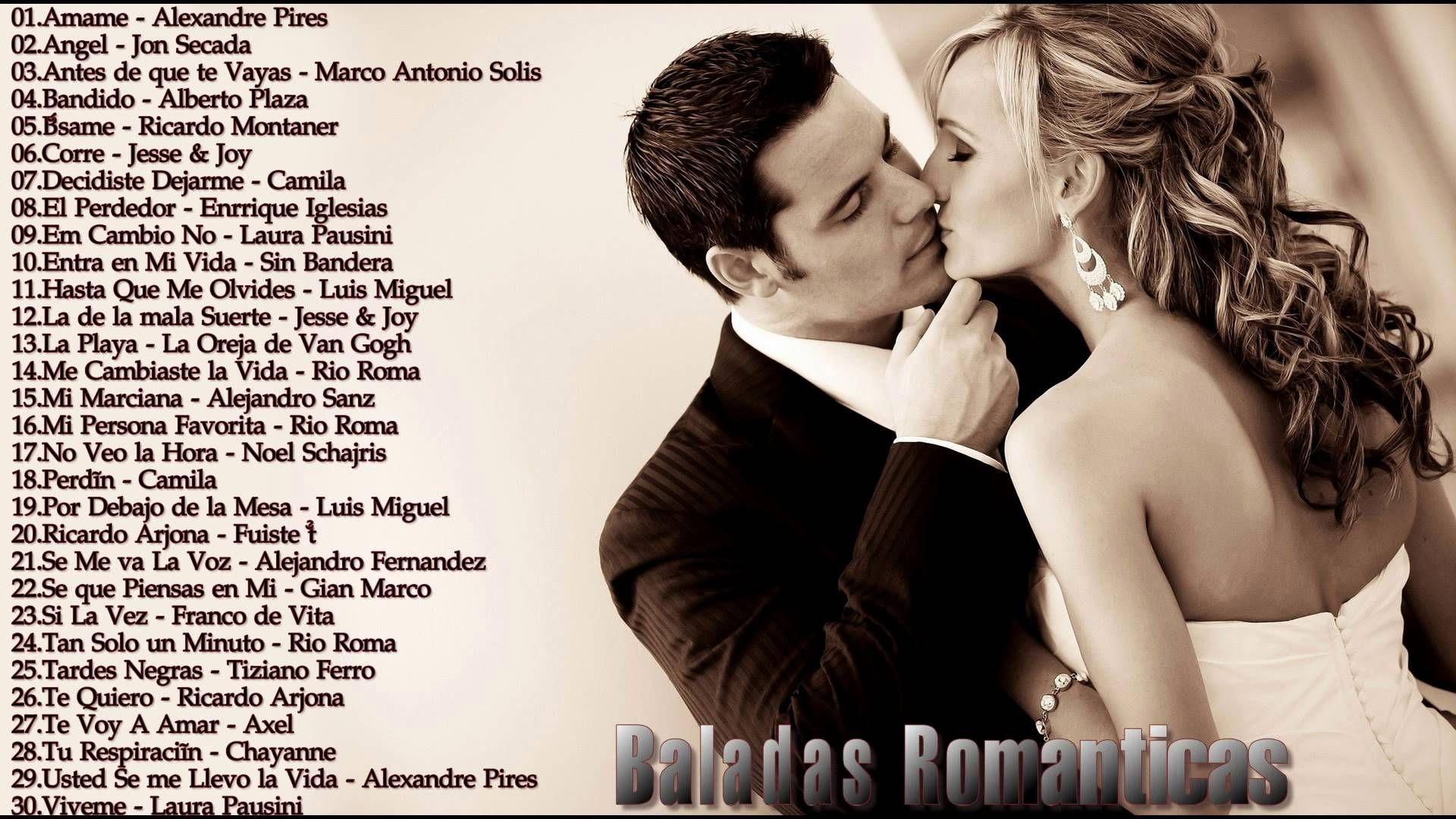 LAS ROMÁNTICAS - 44 Canciones y Letras | Musica.com