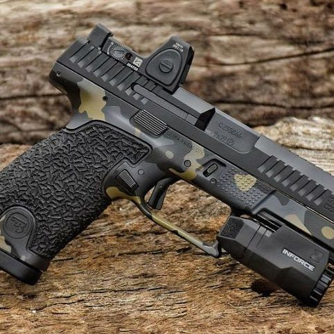 Cz p10c custom #gun #pistol #weapon #handgun #9mm #cz