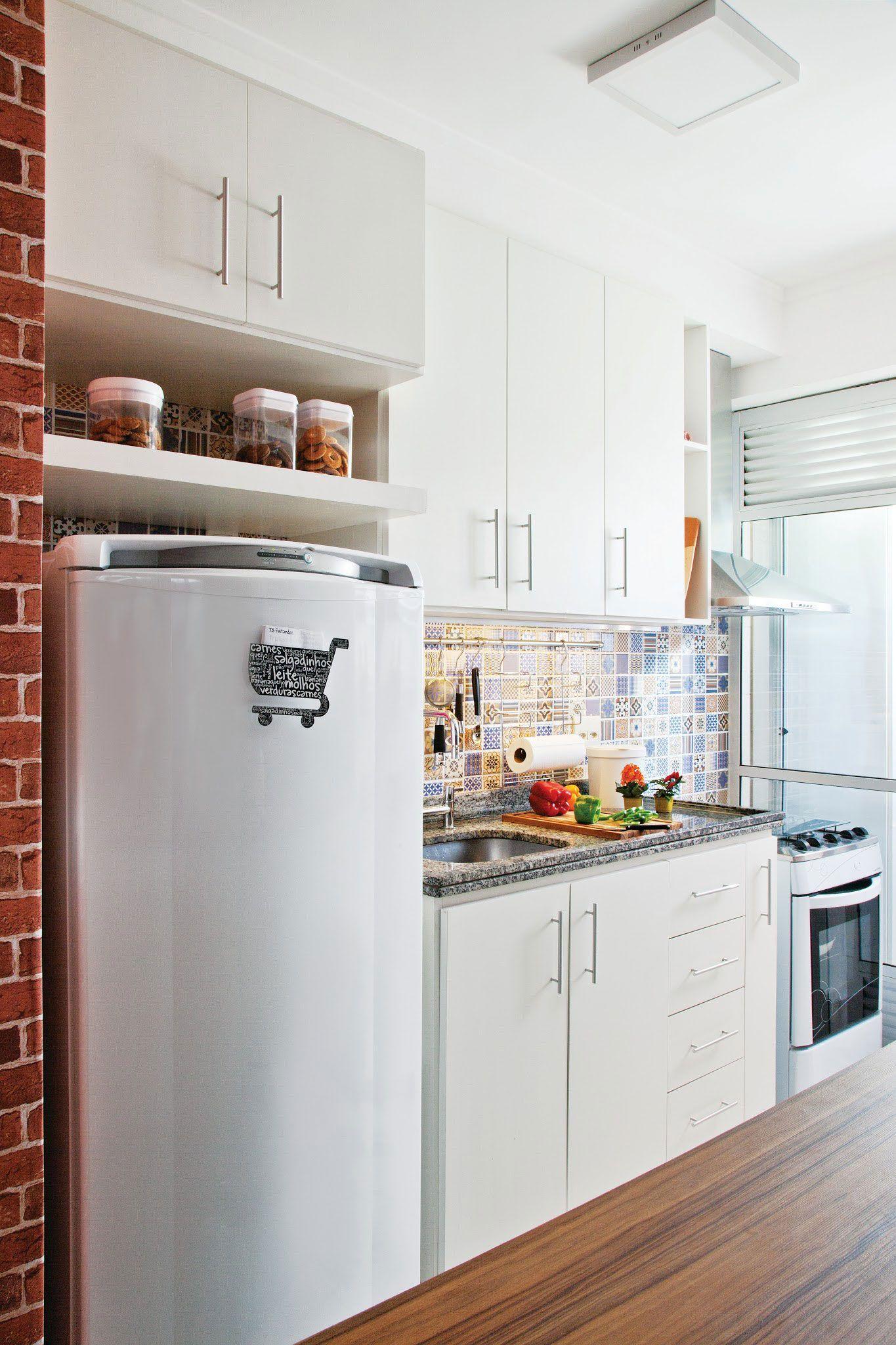 Cozinhas Planejadas Modernas Pequenas Preto E Branco Fotos De