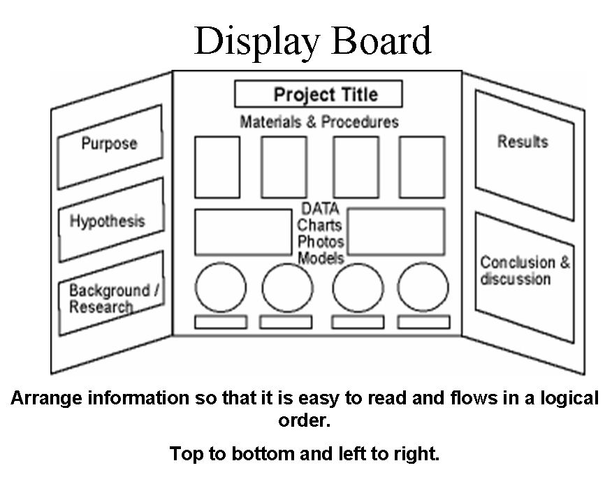 Display Board Design For Science Fair