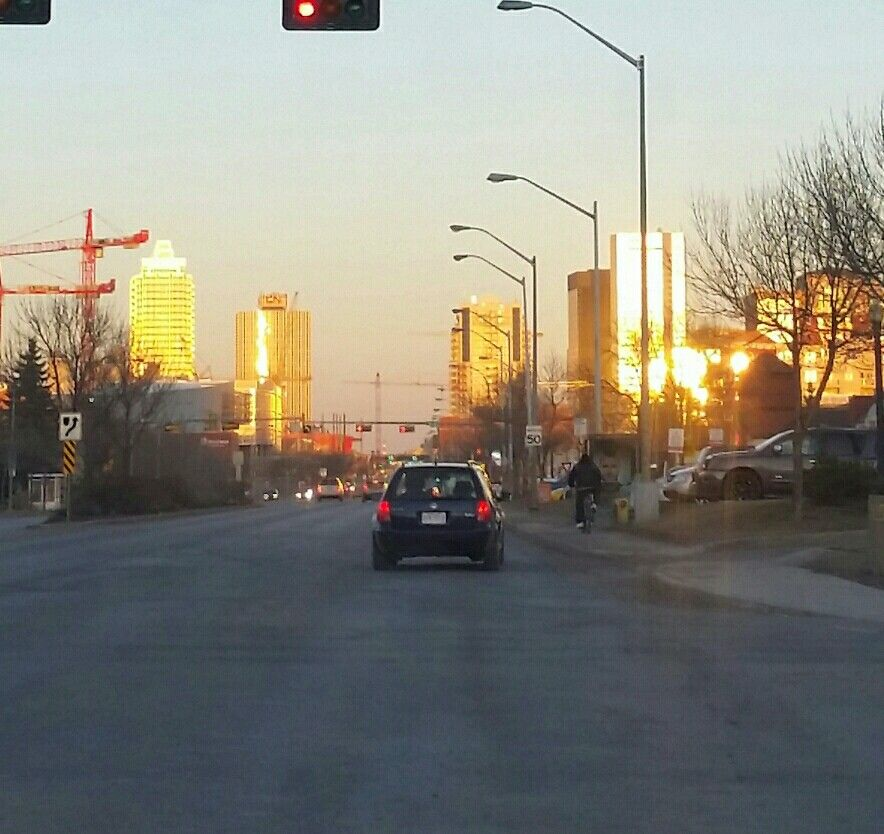 Sunset Downtown