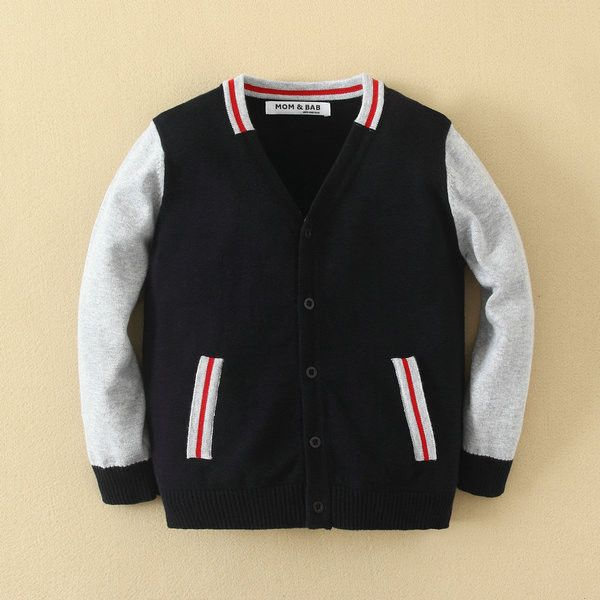 Boy Baseball Cardigan