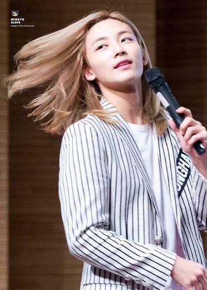 Aesthetic Y Long Hair Styles Hair Flip Jeonghan