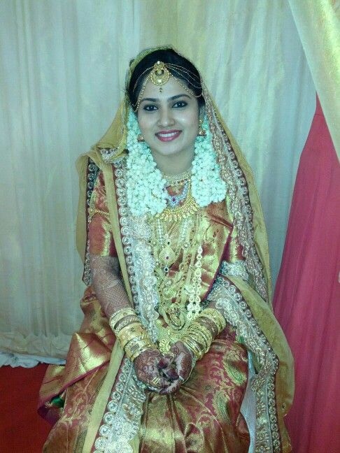 Muslim traditional bride | Indian wedding & Jewellery | South indian